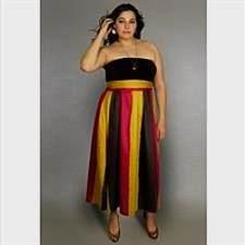plus size strapless maxi dresses 2017-2018