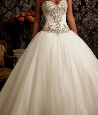 Princess Wedding Dresses With Corset And Bling 2018