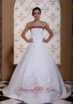 purple and white wedding dress 2017-2018