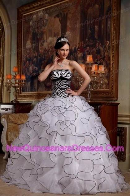 quinceanera dresses red and white and black 2017-2018