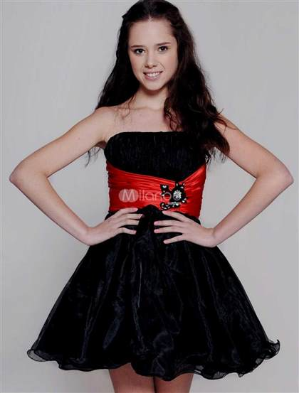 red and black homecoming dresses 2018