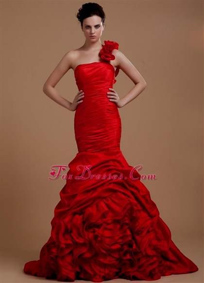 red and black mermaid dress 2017-2018