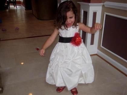 Red black and white flower girl dresses 2018 b2b fashion red black and white flower girl dresses 2018 mightylinksfo