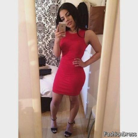 red dress black heels 2017-2018