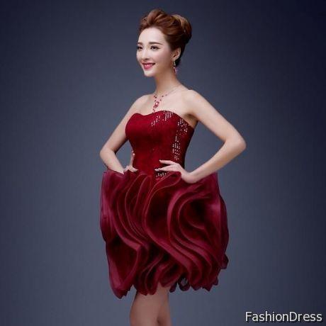 Red Semi Formal Dresses For 8th Graders 2017 2018 B2b Fashion