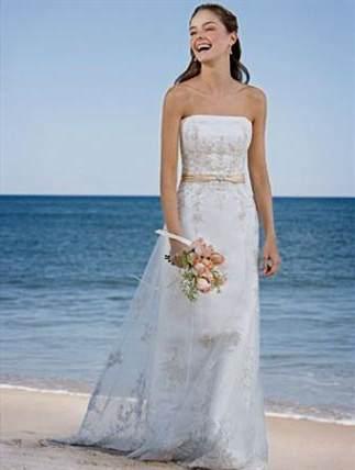 Romantic Beach Wedding Dresses 2017 2018