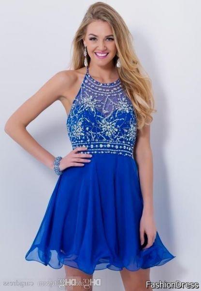 Blue Formal Dresses for Juniors