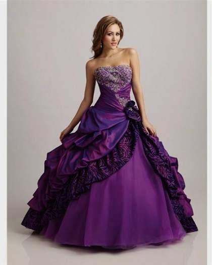 Royal Purple Wedding Dresses 2017-2018