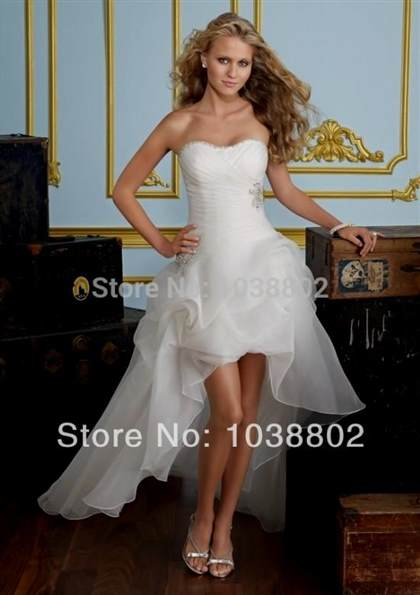 short chiffon beach wedding dresses 2017-2018
