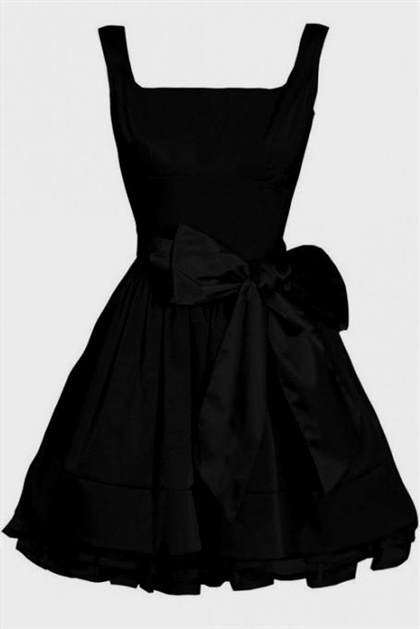simple black dress 2018