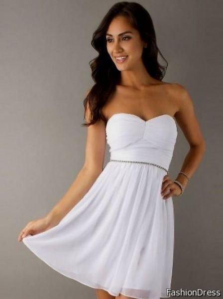 simple short homecoming dress 2017-2018
