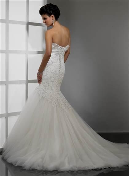 strapless lace mermaid wedding dresses 2017-2018 | B2B Fashion