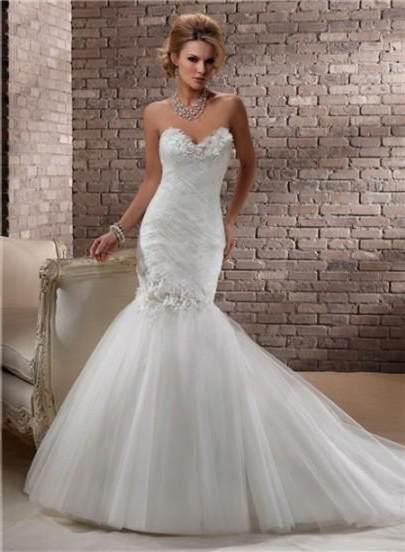 strapless mermaid wedding dresses with corset back 2018   B2B Fashion