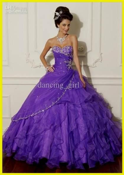sweet 16 dresses blue and purple 2017-2018