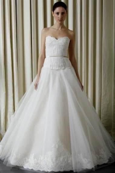 vera wang lace wedding dresses 2017-2018