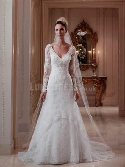 vintage long sleeve lace wedding dress 2017-2018 | B2B Fashion