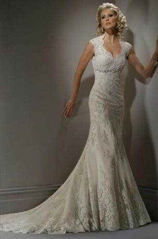 Wedding Dresses With Lace Back Cut Out 2018