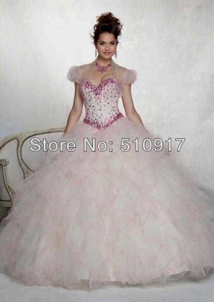 7961823759f white and light pink quinceanera dresses 2018