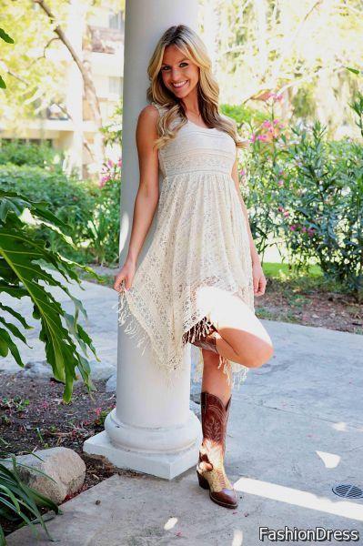 white country girl dresses 2017-2018