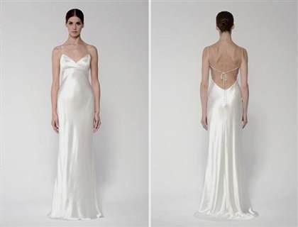 White Silk Sheath Dress 2018 B2b Fashion