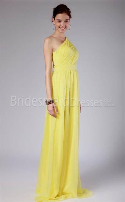 one shoulder yellow bridesmaid dresses wwwpixsharkcom