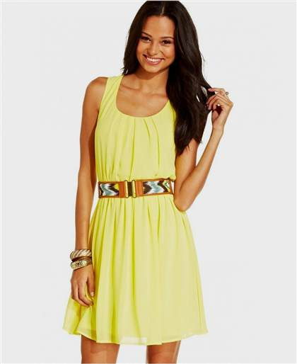 yellow sundress for juniors 2017-2018