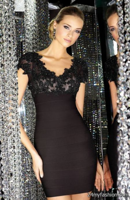 Black formal dresses for women 2018-2019