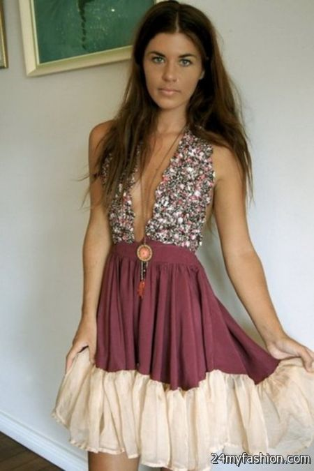 Bohemian evening gowns 2018-2019