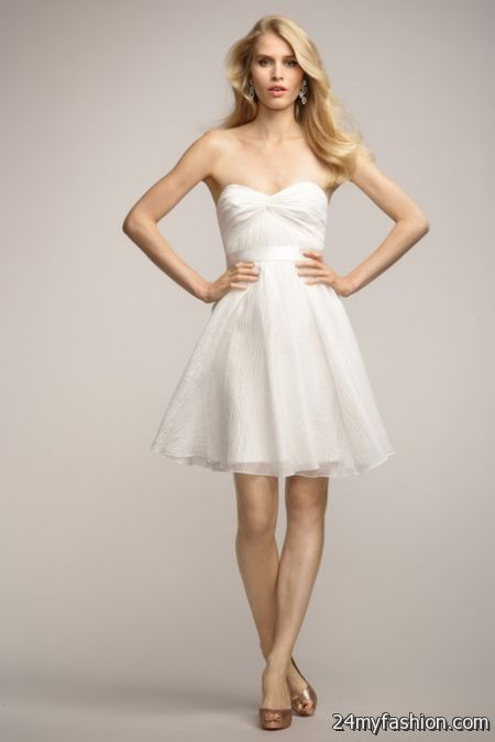 Bridal shower dress for the bride 2018-2019