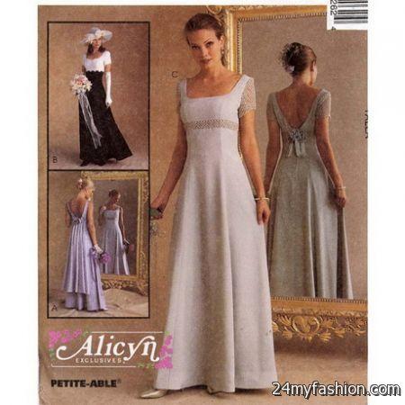 Bridesmaid Dress Sewing Patterns 2018 2019 B2b Fashion
