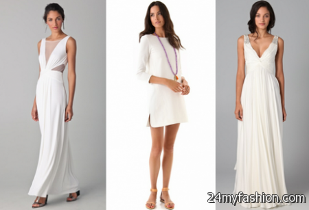 Casual bridal dresses 2018-2019