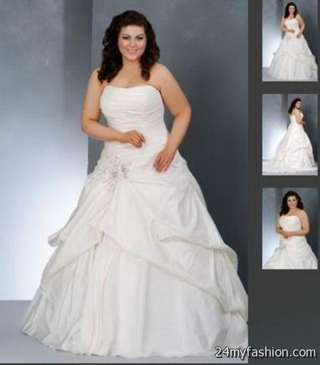 Casual Plus Size Wedding Dresses 2018-2019