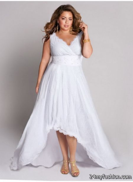 Casual plus size wedding dresses 2018-2019 | B2B Fashion