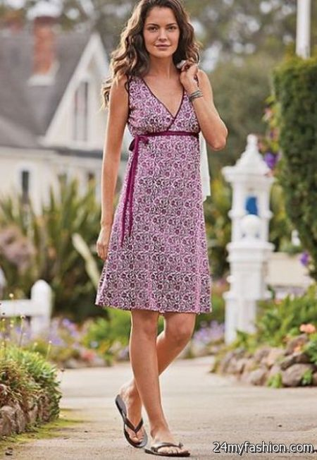 Casual summer dresses for women 2018-2019