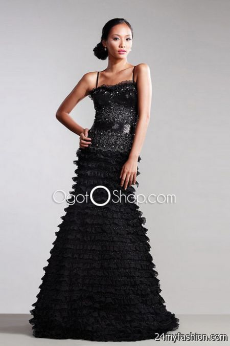 Classic evening dresses 2018-2019
