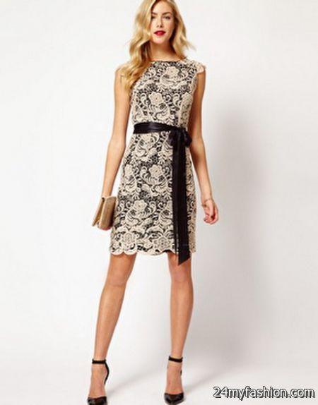 Coast lace dress 2018-2019