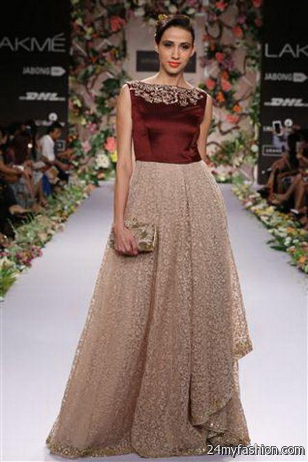 Designer dress for wedding 2018-2019