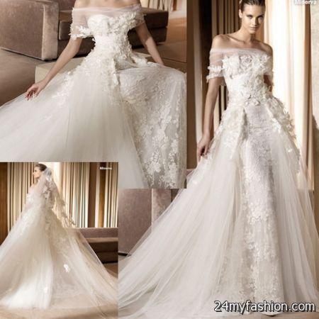 Exquisite wedding gowns 2018-2019 | B2B Fashion