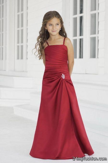 Formal girls dresses 2018-2019