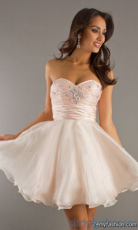 Girls semi formal dresses 2018-2019