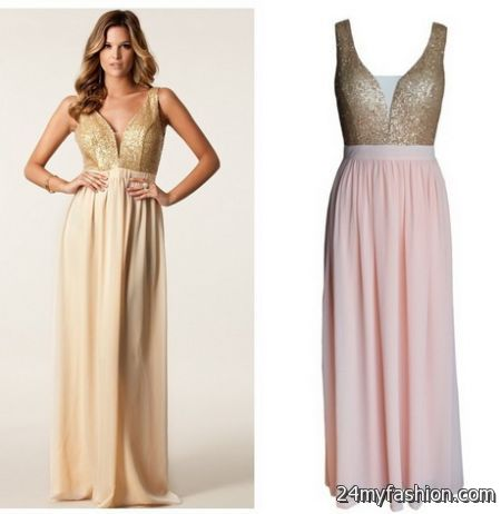 Going out maxi dresses 2018-2019