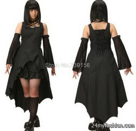 Gothic Plus Size Dresses 2018 2019 B2b Fashion
