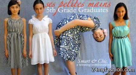 Graduation dresses for 5th grade 2018-2019