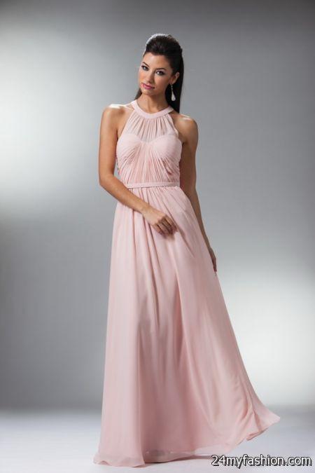 Halter top prom dresses 2018-2019