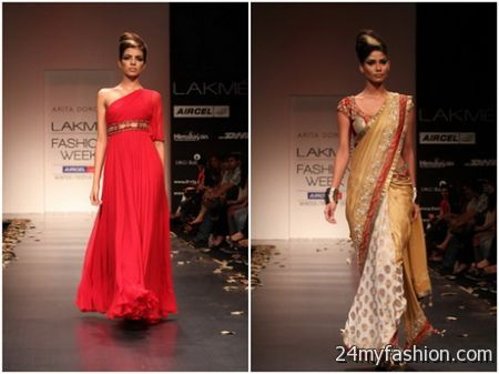 Indian cocktail dresses 2018-2019