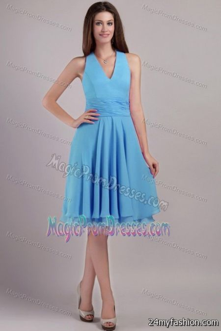 Knee Length Semi Formal Dresses 2018 2019 B2b Fashion