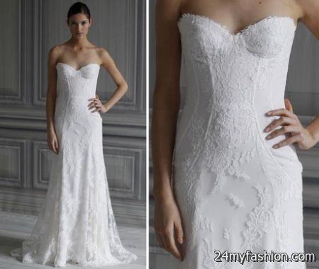 Lace bridal dress 2018-2019