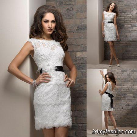Lace dress pattern 2018-2019