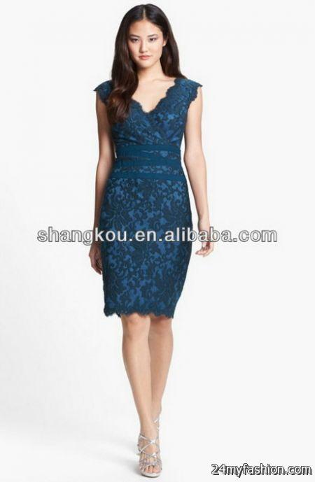 Lace dress pattern 2018-2019   B2B Fashion