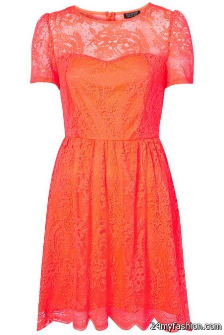 Lace dress topshop 2018-2019
